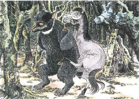 Sho Kuda Jepang legenda onikuma quot beruang iblis quot dari jepang