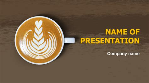 Download Free Smell Coffee Powerpoint Theme For Presentation Eureka Templates Coffee Powerpoint Template Free