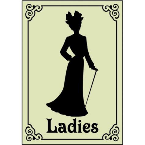 ladies bathroom sign image gallery ladies restroom