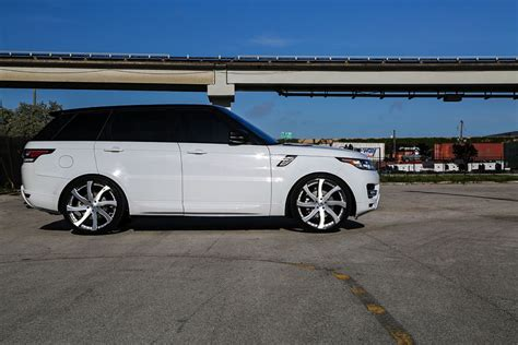 range rover sport custom wheels custom range rover sport on forgiato wheels