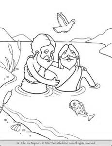 the baptist coloring page 17 best images about catholic saints coloring pages on