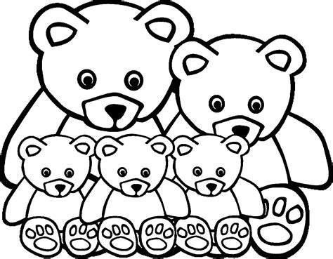 animal family coloring page animal family coloring pages wecoloringpage