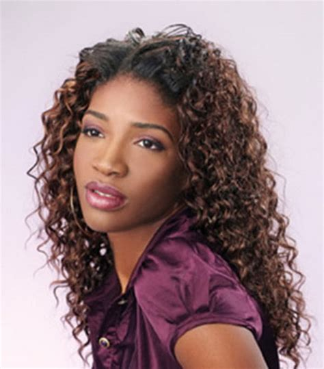black hairstyles curly weaves curly weave hairstyles for black women