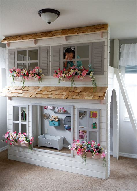 cottage loft bed 20 indoor playhouse ideas creating a whole world