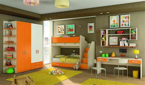 camere letto bambini c106 collezione target per ragazzi con letto a