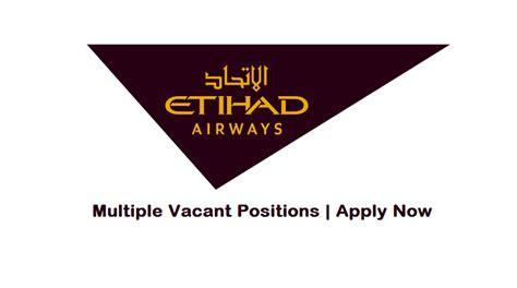 etihad airways jobs aug