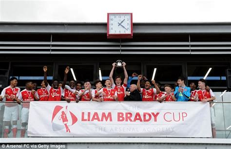 arsenal academy arsenal mark re opening of hale end academy daily mail