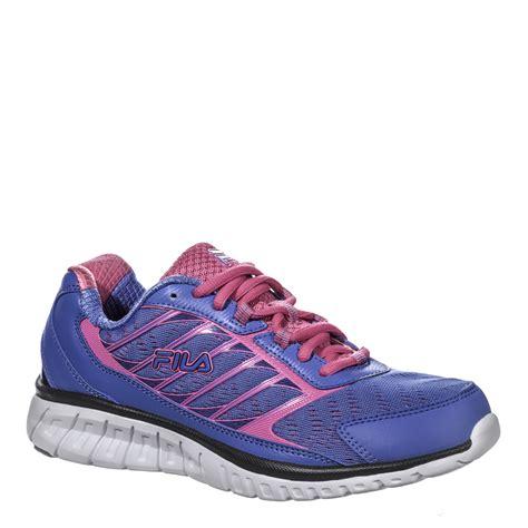 fila s hyper split athletic shoe blue pink shop