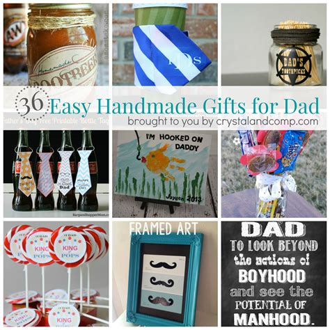 gift for dad 36 easy handmade gift ideas for dad easy homemade gifts