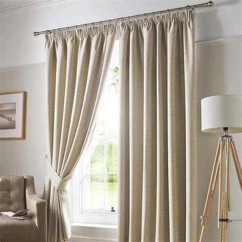 blackout curtains ebay pencil pleat blackout ready made curtains pair fully lined