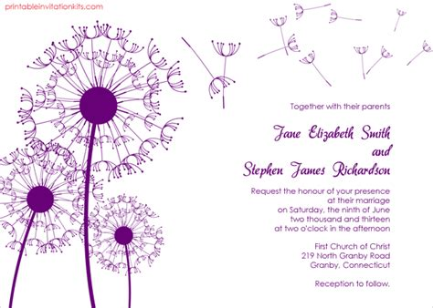 Simple Wedding Invitation Templates by Invitation Template 15 Free Psd Vector Eps Format
