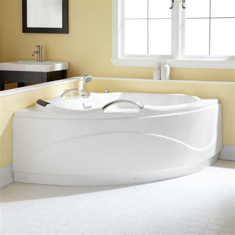 54 acrylic bathtub 54 quot santorini corner acrylic tub bathroom