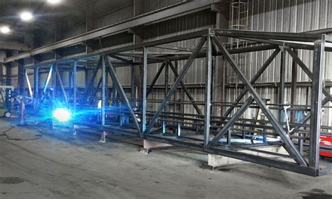 Fabrication Processing Castlen Steel Metal Fabricating Equipment Storage And Processing