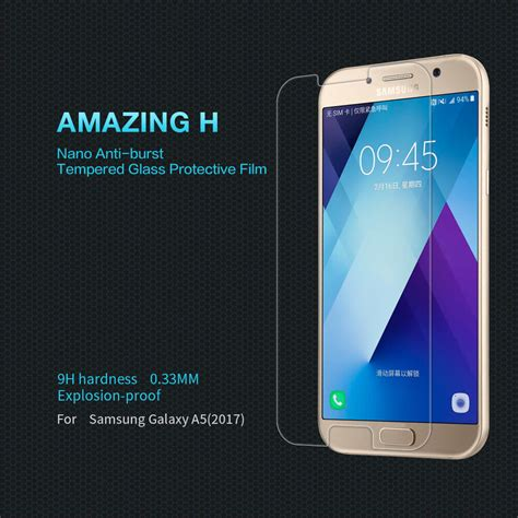 Promo Tempered Glass Nillkin Samsung Galaxy A5 Amazing H nillkin amazing h tempered glass screen protector for