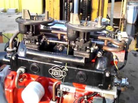 volvo penta aqb boat engine youtube