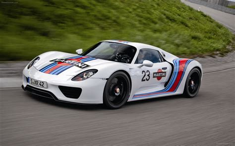 martini porsche 918 porsche 918 spyder 2013 widescreen exotic car photo 11 of