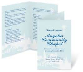 free printable church program templates how to make church programs that look great paperdirect