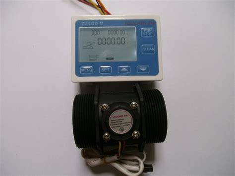 Meter Digital g2 inch dn50 flow rate water sensor meter lcd digital display programmable veramade ru