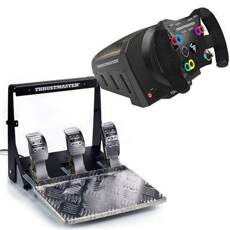 thrustmaster volante thrustmaster ts pc racer thrustmaster t3pa pro add on