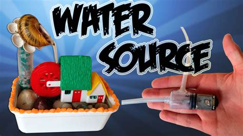 how to make a water fountains