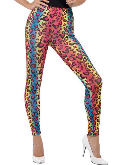 Legging Wanita Motif Leopard C02303 colourful leopard for a