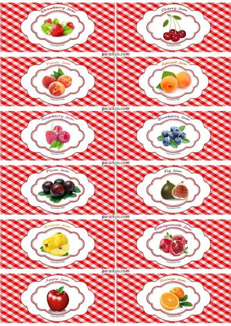 Etiketten Drucken Kostenlos Marmelade by 17 Best Images About Printables On Jam Label