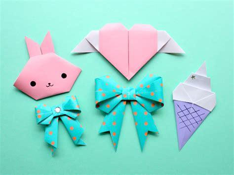 Kawaii Origami - kawaii origami tutorials kao ani