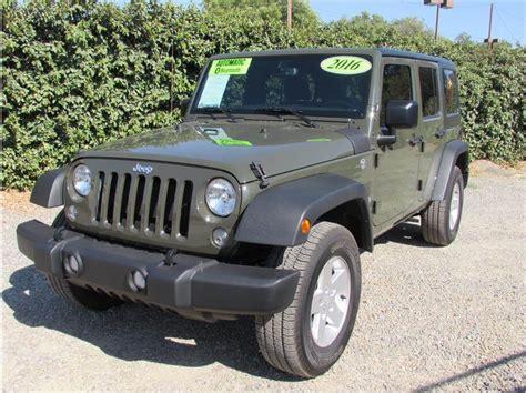 tank green jeep 2016 jeep wrangler tank green