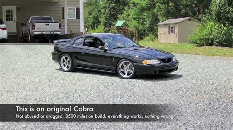 98 Cobra Auto Swap by 98 Cobra 617 Rwhp Sold Youtube