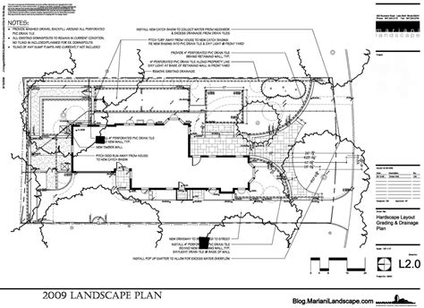 house drainage plans house drainage plans the master plan in the garden with mariani landscape