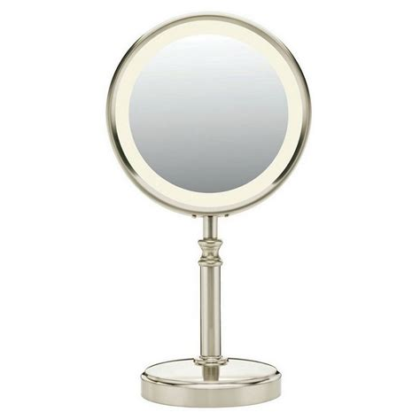 sided lighted mirror conair be116t fluorescent sided lighted mirror
