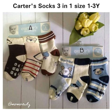 Kaos Kaki Baby Isi 3 Pasang kaos kaki s baby 3 in 1 size 6m s d 3y ibuhamil