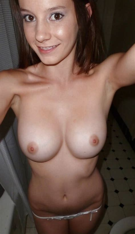 Braces And Boobs On Smiling Cousin Teen Porn