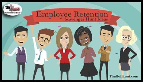 Idea Hunt scavenger hunt ideas for employee retention thrill of