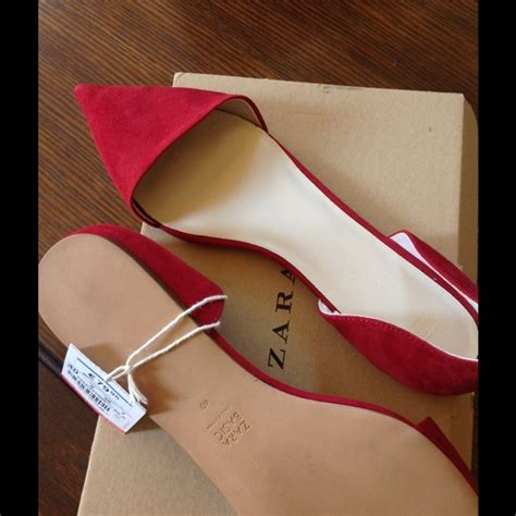 flatshoes zira pink tali 27 zara shoes new zara v pointed toe flats w
