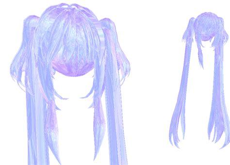 Mmd Base Hair | mmd base hair mmd crystal hair download by yozane on