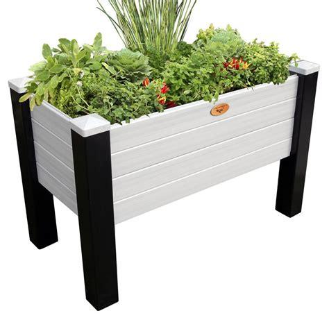 maintenance  elevated garden bed