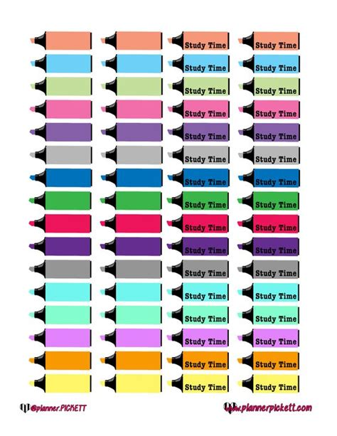 study planner stickers printable pinterest the world s catalog of ideas