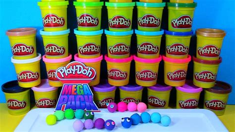 Play Doh Mega Pack 36 Cans play doh mega pack review and colorful play doh