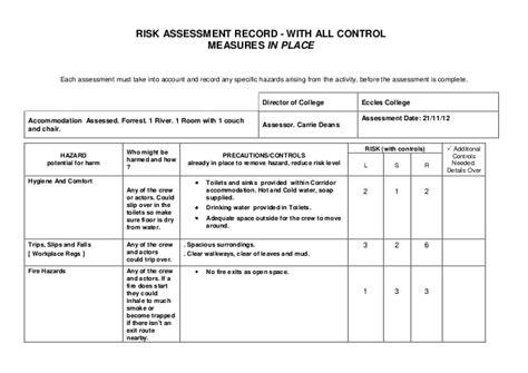 Arc Flash Report Template Risk Assessment