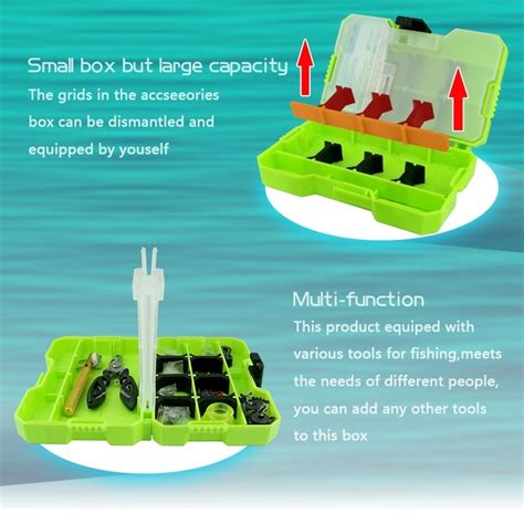 Jakemy Fishing Accessories Tool Kit With Storage Box Jm Pj5002 5001 Jakemy Fishing Accessories Tool Kit With Storage Box Jm Pj5001 Green Jakartanotebook