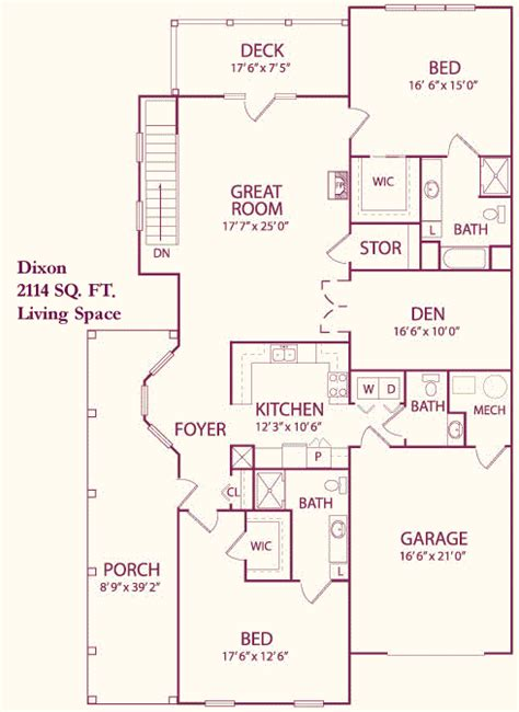 dixon homes floor plans single family home floor plans carroll lutheran