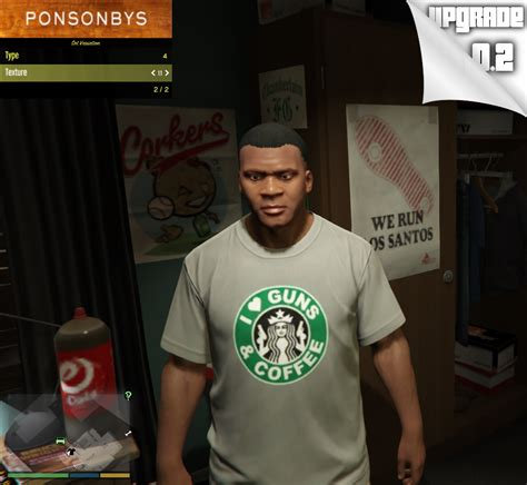 T Shirt Distro Liverpool 011 t shirt pack for franklin gta5 mods