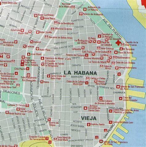printable map havana italia news