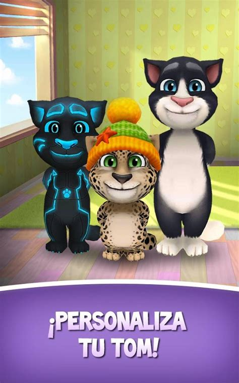 my talking my talking tom el juego gatito bebe tom apk