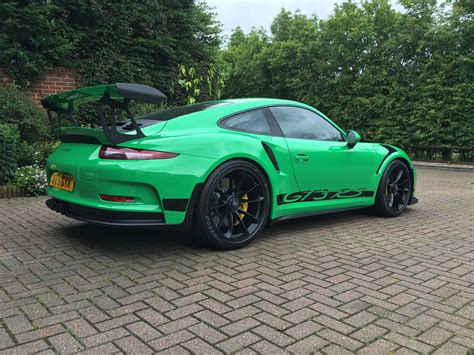 porsche gt3 rs 2016 rs green porsche 911 gt3 rs for sale at 321 000 in