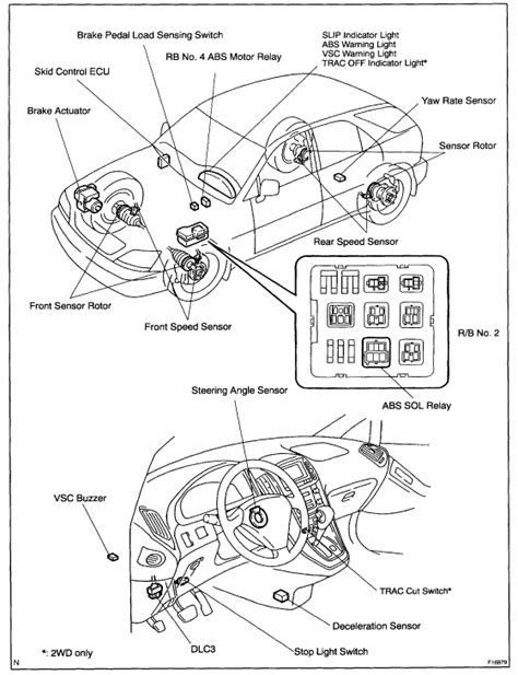 repair anti lock braking 2002 lexus rx on board diagnostic system 2000 lexus es300 abs sensor location wiring diagrams image free gmaili net