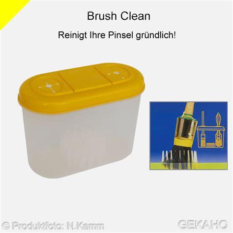 Pinsel Reinigen Terpentin by Pinselreiniger Quot Brush Clean Quot Pinsel Aufbewahrungs Box Gekaho