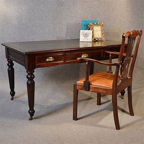 library study tables antique desk large leather by suchgorgeousthings