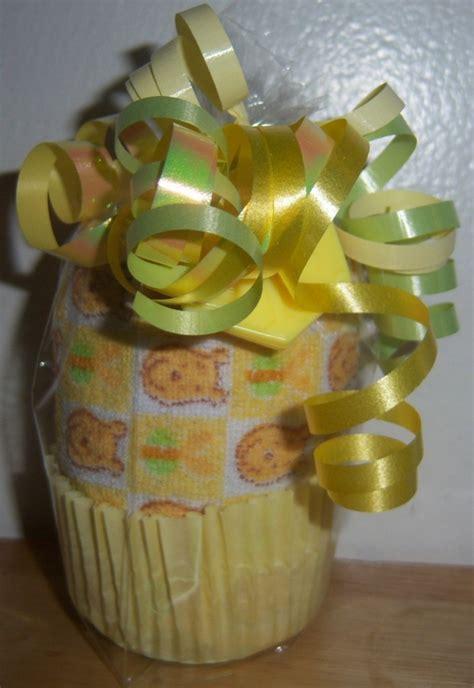 Winnie The Pooh Baby Shower Favors by Winnie The Pooh Washcloth Cupcake Baby Shower Favor Ebay